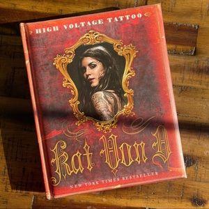 Autographed High Voltage Tattoo by Kat Von D